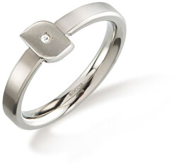 Titanový prsten s diamantem 0141-02