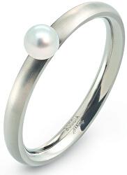 Titanový prsten s perličkou 0145-01