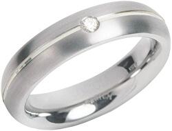 Titanový snubní prsten s diamantem 0130-05