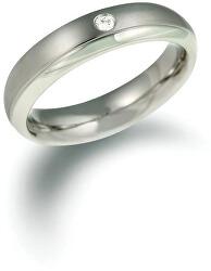 Titanový snubní prsten s diamantem 0130-11