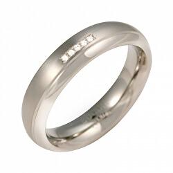 Titanový snubní prsten s diamanty 0130-09