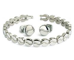 Zvýhodněná sada módních šperků (náramek, náušnice)