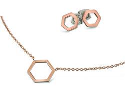 Zvýhodněná titanová sada (náušnice, náhrdelník)