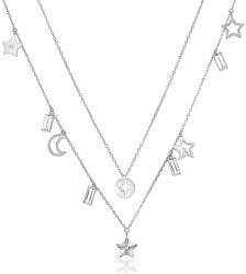 Dvojitý náhrdelník s príveskami Chant BAH03