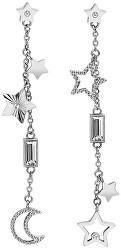 Hvězdičkové náušnice s krystaly Chant BAH21