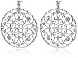 Kruhové náušnice so zirkónmi Corinto BOI23