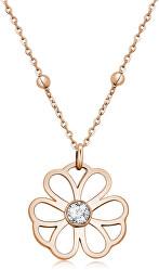 Oceľový náhrdelník Ikebana BKE04