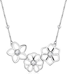 Oceľový náhrdelník Ikebana BKE05