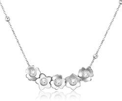 Oceľový náhrdelník Ikebana BKE07