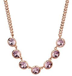 Oceľový náhrdelník s kryštálmi Swarovski N-Tring BTN31