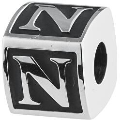 Ocelový přívěsek Alphabet N TJ Man BTJN57