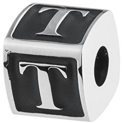 Oceľový prívesok Alphabet T TJ Man BTJN63