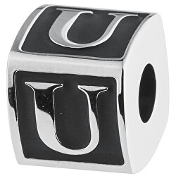 Ocelový přívěsek Alphabet U TJ Man BTJN64