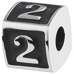 Ocelový přívěsek Numbers 2 TJ Man BTJN71