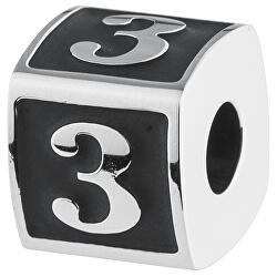 Ocelový přívěsek Numbers 3 TJ Man BTJN72