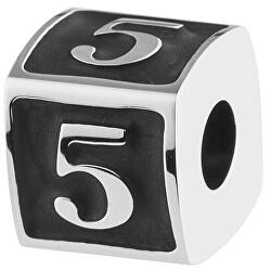 Ocelový přívěsek Numbers 5 TJ Man BTJN74