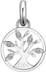 Ocelový přívěsek Strom života s krystaly Très Jolie BTJM426