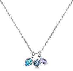 Pekný náhrdelník s kryštálmi Affinity BFF68