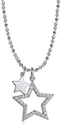 Strieborný náhrdelník Musa G9MU02 (retiazka, prívesok)