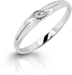 Elegantní prsten z bílého zlata s brilianty DZ6815-2844-00-X-2