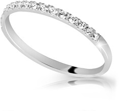 Fehér arany gyűrű gyémántokkal DZ6739-00-X-2