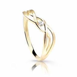 Jemný prsten ze žlutého zlata Z6712-1843-10-X-1