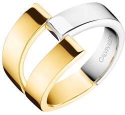 Luxusní bicolor prsten Truly KJ8JJR2001