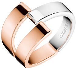 Luxusní bicolor prsten Truly KJ8JPR2001