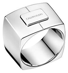Luxusní ocelový prsten Assertive KJAHMR0001