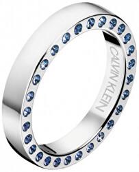 Luxusní ocelový prsten s krystaly Hook KJ06MR0404