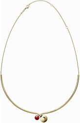 Luxusní pozlacený náhrdelník Bubbly KJ9RJJ140200