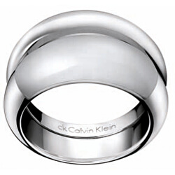 Masívní ocelový prsten Ellipse KJ03MR0102