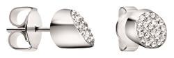 Ocelové náušnice s krystaly Brilliant KJ8YME040100