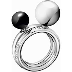 Ocelový prsten Bubbly KJ9RMR04030