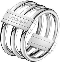 Ocelový prsten Insync KJBDMR0001