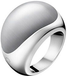 Ocelový prsten s kamenem Ellipse KJ3QWR0201