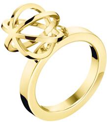 Originální pozlacený prsten Show KJ4XJR1002