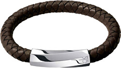 Pánsky kožený náramok Bewilder KJ2BCB09010