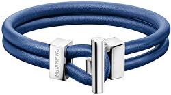Pánsky modrý náramok Anchor KJ8WLB09010