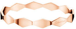Pevný růžově zlatý náramek Snake KJ5DPD1001