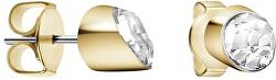 Pozlacené náušnice s krystalem Brilliant KJ8YJE140200