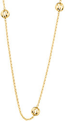 Pozlacený ocelový náhrdelník Show KJ4XJN100100