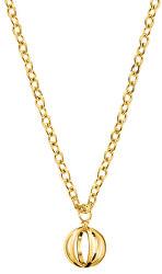 Pozlacený ocelový náhrdelník Show KJ4XJN100300