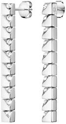 Stylové ocelové náušnice Tune KJ9MME040500