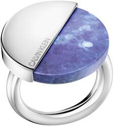 Stylový prsten s lapisem lazuli Spicy KJ8RLR0402