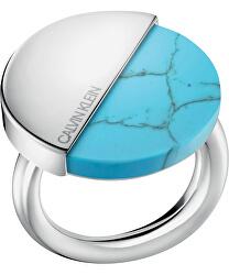Stylový prsten s tyrkysem Spicy KJ8RLR0401