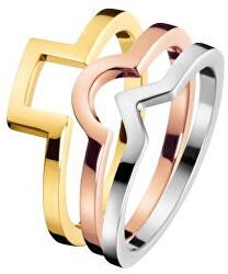 Tricolor prsten 3 v 1 Wonder KJ4VDR3001