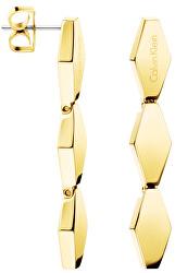 Zlaté náušnice Snake KJ5DJE100100