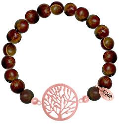 Jaspisový náramek se stromem života 865-180-080018-0000