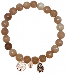 Náramok z hnedého jadeitu 865-180-090010-0000
